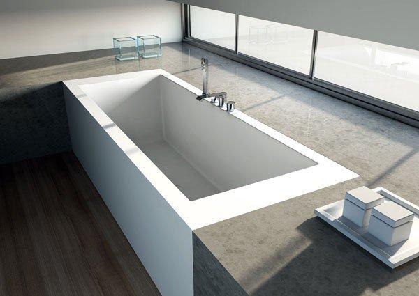 0b5fe456eeea Vasche da bagno Corian su Misura ONE