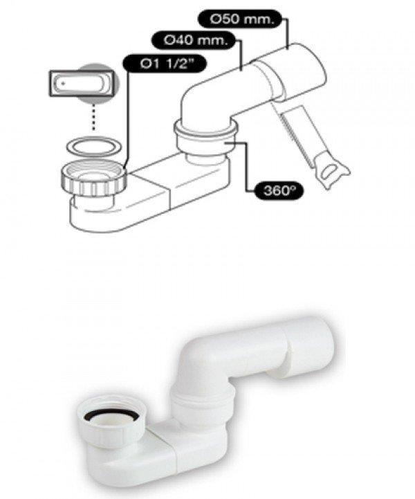 Vasche da bagno corian su misura two libreria laterale - Misura vasche da bagno ...